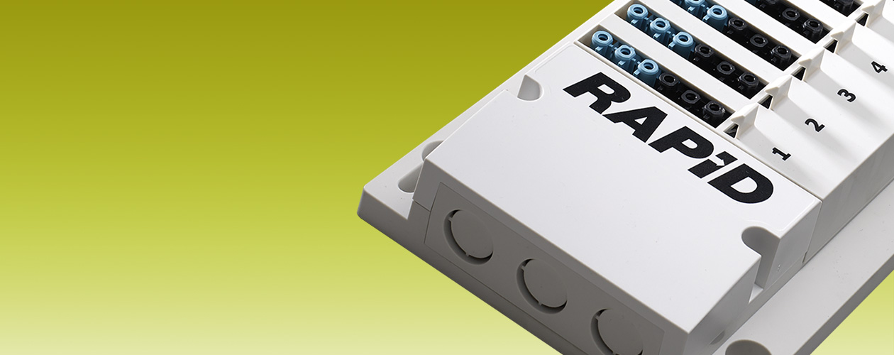 RAPID. The most advanced fully addressable lighting control system.