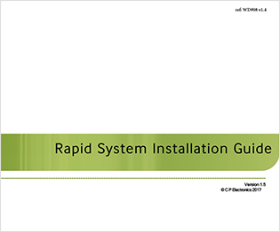 CP electronics - RAPID System Installation Guide