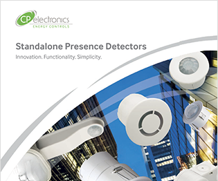 CP electronics - Standalone Presence Detectors Brochure