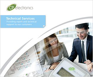 CP electronics - technical services brochure