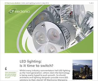 CP electronics - LEDs and Lighting Control