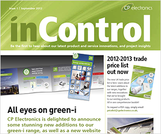 CP electronics - inControl issue 1