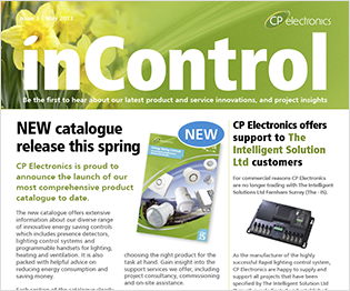 CP electronics - inControl issue 3