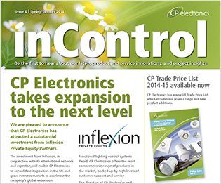 CP electronics - inControl issue 6