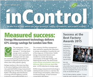 CP electronics - inControl issue 9