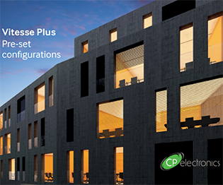 CP electronics - Vitesse Plus - Pre-set configurations